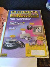 Cd Labeling System Cd Stomper Pro Brand New In Sealed Box