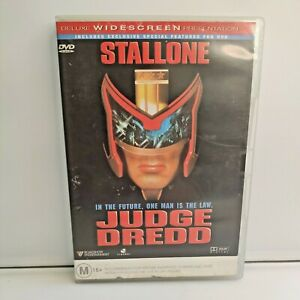 Judge Dredd DVD - Sylvester Stallone Action Movie - Region 4