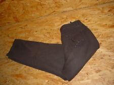 Stretchjeans/Jeans v.BONITA Gr.40/L30 dunkelbraun Nieten