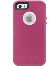 New OEM OtterBox Defender Series Pink/White Case For iPhone 5 (No Holster)