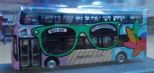 Corgi Bus OM46512A Wright Eclipse Gemini 2 Brighten & Hove 1 Mile Oak 1/76