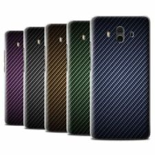 Étuis, housses et coques Huawei Mate 10 en fibre de carbone pour téléphone mobile et assistant personnel (PDA)