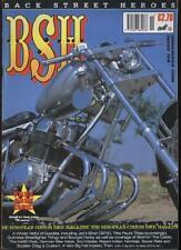 BSH THE EUROPEAN CUSTOM BIKE MAGAZINE - November 2000