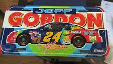1997 Jeff Gordon #24 DuPont  Plastic License Plate
