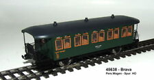 Brava  45639  -  Set Personenwagen - 3-teilig Bauart Cu/CDu der DRG, Epoche II.