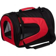 Pet Life B7Rdlg Airline Approved Folding Zippered Sporty Mesh Pet Carrier - R.