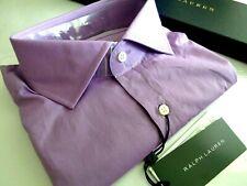 NEW WITH TAG RALPH LAUREN BLACK LABEL DRESS SHIRT HANDMADE ITALY RETAIL $395.00
