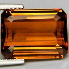 CITRINE madère octagone 29,90 carats -IF- origine : Brésil