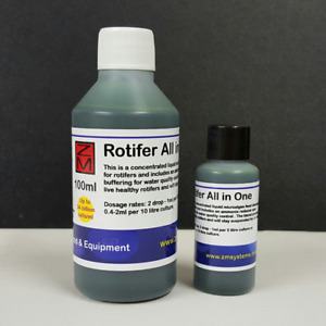 250ml ZM Rotifer All in One 2x normal strength microalgae phyto culture food