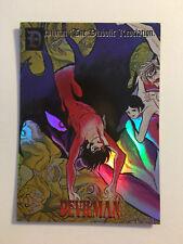 "Devilman "" The Diabolic Revelation"" Trading Card Prism H-08"