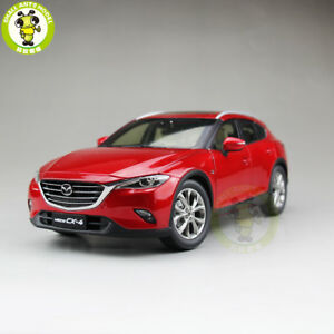 1/18 Mazda CX-4 SUV Diecast Car SUV Model Toy Boy Girl Gift Collection Red