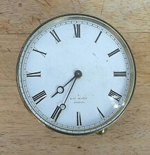 French Tic Tac Clock Movement