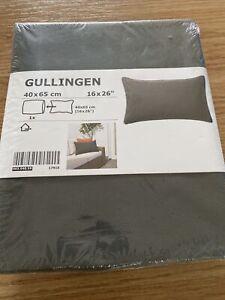 Ikea Gullingen Cushion Covers 2 Set Dark Grey 40 x 65 cm