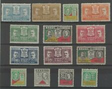 Brazil 1931 Revolucion of October 1930 compleet set of 14 stamps