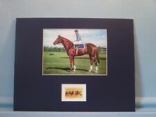 Triple Crown Winner Secretariat honored by the Horse Racing Stamp