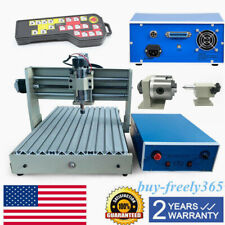 4axis 3040 Router Engraver Cnc Engraving 3d Milling Machine Usbcontroller