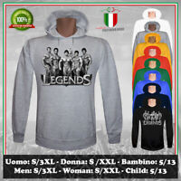 FELPA BODYBUILDING LEGENDS BODY BUILDING PALESTRA 2020 UOMO DONNA BAMBINO HOODIE