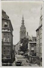 ELBING Elbląg: Fleischerstraße, AK von 1936