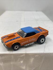 Matchbox Lesney Superfast Dodge Challenger Revin Rebel Near MINT