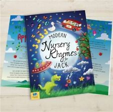Personalised Nursery Rhymes Childrens Book Modern Hardback Child Book Gift Boxed