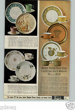 1966 Paper Ad Dishes Melamine Georges Briard Bandana Homestead China Garlandia