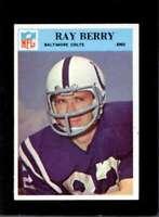 1966 PHILADELPHIA #15 RAYMOND BERRY EXMT COLTS HOF  *XR16856