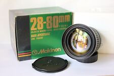 Nikon F AI Makinon 28-80mm f3.5/4.5 Wide Angle Manual Zoom Lens With Macro Boxed