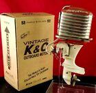 Vintage K&O 1957 Mercury Mark 75 60 HP Toy Outboard Motor Model Wood Boat Runs