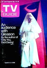 TV Guide 1969 I Dream Of Jeannie Barbara Eden #869 Spock Magazine Photo VTG