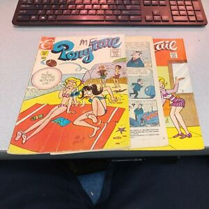 Ponytail 17 18 20 Charlton Bronze Age Comics Lot Run Set Collection