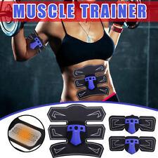 ABS Machine EMS Muscle Toner Abdominal Toning Belt Workouts Fitness Training Set
