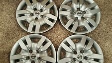 """NEW Set of 4 53078 Hubcaps Wheel Covers 16"""" Altima Nissan 2007 08 09 10 11 2012"""