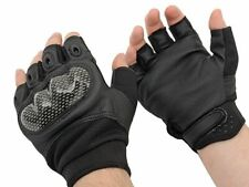 Military Combat Gloves Style Fingerless Airsoft Bike paintball L SIZE