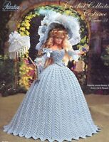 1790 English Country Costume Crochet Collector Costume #57 Paradise Publications