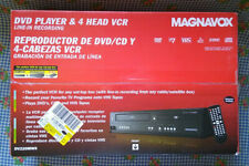 Magnavox DV220MW9 DVD Player 4 Head VCR Combo Unit With Line In Recording