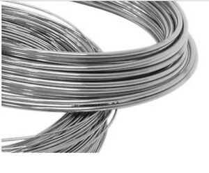 925 Sterling Silver Round Half Hard Wire 0.6mm Multiple Lengths