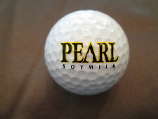 LOGO GOLF BALL-PEARL SOYMILK.....