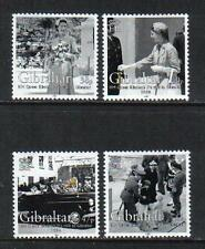 Gibraltar 2004 Queen Elizabeth II Visit 50th--Attractive Topical (966-69) MNH