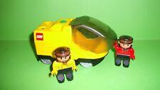 Lego Duplo Eisenbahn Intelli,3325,3335,Lok mit Neuen Messingzahnrad,2 Lokführer