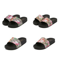 Womens Ladies Summer Flat Sandals Beach Slider Slipper Casual Shoes Mules Size