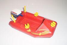 JEU JOUET ENFANT Personnage PLAYMOBIL : Bateau Zodiac Barque à Moteur !!
