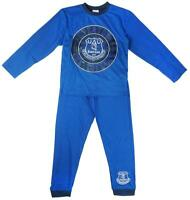 Boys Pyjamas Everton Football Club The Toffees Blues Long Pjs 4 to 12 Years