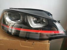 Genuine VW Golf Gti Mk7 12-19 Xenon Headlight Drivers Side