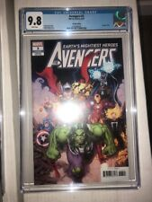 Avengers #3 Arthur Adams variant CGC 9.8 Captain Marvel Thor Iron Man She-Hulk