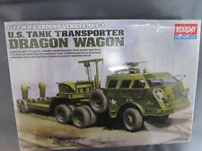 "Academy #13409 US Tank Transporter ""Dragon Wagon"", 1/72 scale sealed."