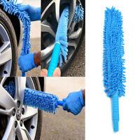 Nettoyeur flexible long doux de roue lavage de voiture de brosse microfibre