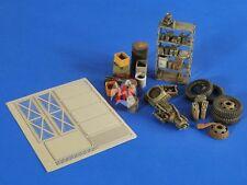 Verlinden 1/35 Military Workshop Stuff (Shelf and Accessories) [Resin+PE] 2574