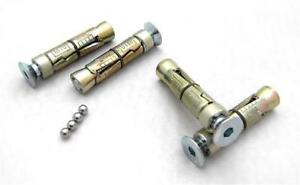 Anti-theft Security Bolts, Replacement Fixings for Ground Anchor M8 M10