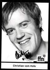 Christian vom Hofe FFN Autogrammkarte Original Signiert ## BC 37937