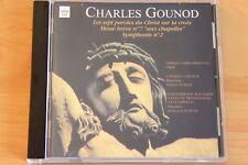 Gounod 7 dernières paroles Christ sur la Croix Messe brève Symphonie 2 -CD Arion